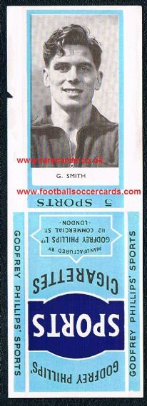 1950 Hibs Gordon Smith Sports 5s pack